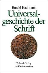 Universalgeschichte der Schrift Gebundene Ausgabe