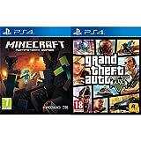 Minecraft + Grand Theft Auto V (GTA V)