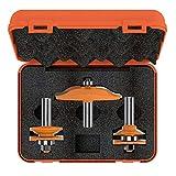 CMT Orange Tools 900.516.11–ESTUCHE 3Fräser HM S 12Küchen (perf. D)