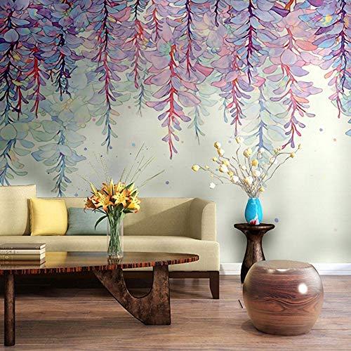 Carta da parati foto poster gigante wjbxx moderno floreale 3d carta da parati home decor personalizzato fiore murale carta da parati soggiorno decorazione murale