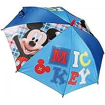 Mickey - Paraguas automatico de mickey, tamaño 48 cm