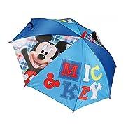 Disney Topolino 2401-169 Ombrello, Apertura Automatica, Diametro 96 Centimetri, Bambino, Poliestere, Multicolor