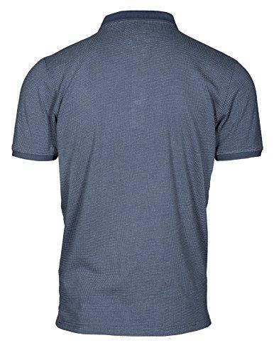 Basefield Herren Polo Shirt - Faded Indigo (219010654) 606 FADED INDIGO