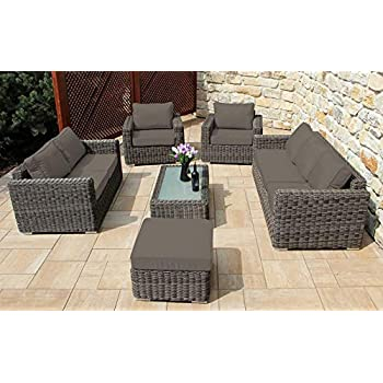 Amazon.de: Baidani Gartenmöbel-Sets 10a00002 Designer Lounge ...