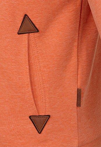 Naketano Male Hoody Schwanzus Longus V Orange Melange