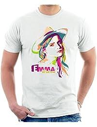 Geometric Celebrity Emma Watson Men's T-Shirt