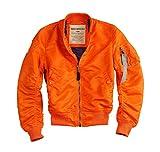 Alpha Industries Jacke MA-1 VF LW Wmn, Größe:XL, Farbe:orange