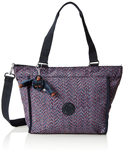 Kipling New S, Shopper Donna, Multicolore (REF34K Mini Geo), 42x27x13 cm (B x H x T)