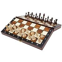 Albatros-AW1579920-Reise-Schachspiel-Venezia-magnetisch-28-x-28-cm Albatros Reise-Schachspiel VENEZIA, magnetisch, Feldgröße 28 x 28 cm, klappbar, Handarbeit aus Holz -