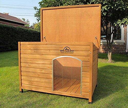XL Isolierte Norfolk Hundehütte Aus Holz Mit Entfernbarem Boden Zur Einfachen Reinigung - 2