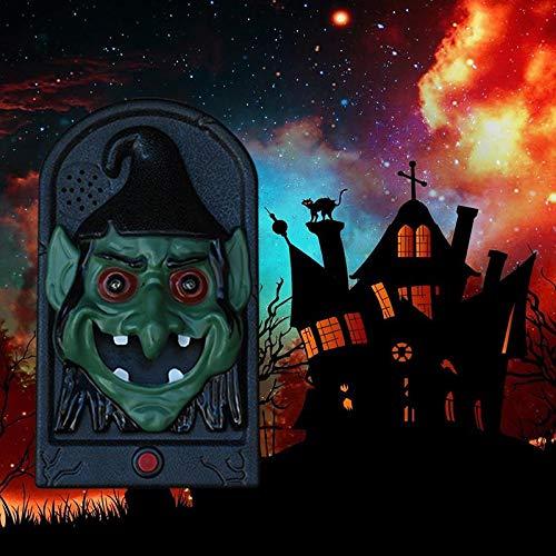 Jspoir Melodiz Halloween Türklingel Halloween Dekorationen Horror Modellierung Türklingel Halloween-Ideen (Hexe) (Hexe Ideen Halloween Für)