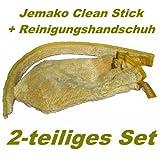 Jemako Clean Stick 60cm + Reinigungshandschuh GELB (2- teiliges Set)