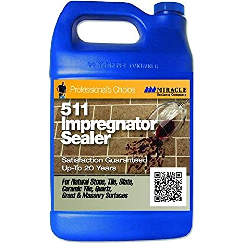 Miracle Sealants - 511 Impregnator Penetrating Sealer 128 oz. - Gallon by Miracle Sealants