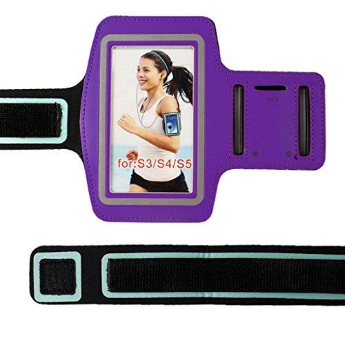 Nuovo 9colori premium corsa sport palestra fascia da braccio custodia cover per samsung s3/s4/s5/s6/s7edge plus