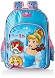 Disney Princess Dream Big Blue School Bag for Children of Age Group 6-8 years | Size 16 inch