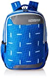 #9: American Tourister 27 Ltrs Blue Casual Backpack (AMT CRUNK 2017 BKPK 03- R BLUE)