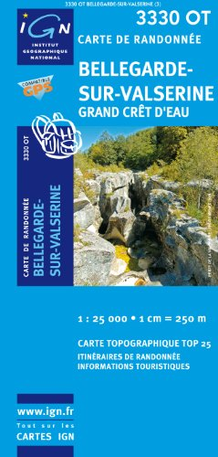 Bellegarde-Sur-Valserine / Grand Cret D'Eau GPS: Ign.3330ot