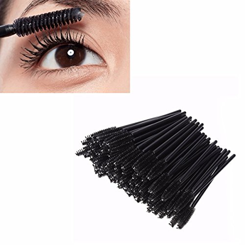 LuckyFine 200pcs Kit Set Eyelash Mascara Makeup Brushes For Eyelashes Extensions applicator