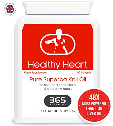 Krill Oil | Scientifically Proven to Support Brain Function, Heart Health & Joint Pain | 48 X More Powerful than Cod Liver Oil | 100% Natural & Pure Test