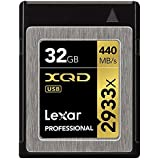 Lexar Professional 2933x 32GB XQD 2.0 Karte (Up to 440MB/s Read) w/Free Image Rescue 5 Software