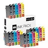 20 Druckerpatronen kompatibel zu Epson T1285 T1284 T1283 T1282 T1281 passend für Epson Stylus Drucker Siehe Produktbeschreibung