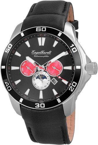 Engelhardt Men's Automatic Watch 387721029017 with Leather Strap