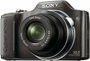 """Sony Cyber-Shot DSC-H20 Appareil photo numérique Bridge 10,1 Mpix Zoom Optique 10x Ecran LCD 3"""" Sortie HD Noir"""
