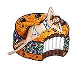 BigMouth Inc. - Riesiger Eis Plätzchen Keks Cookie Strandtuch – Stranddecke Strandhandtuch Rund XXL