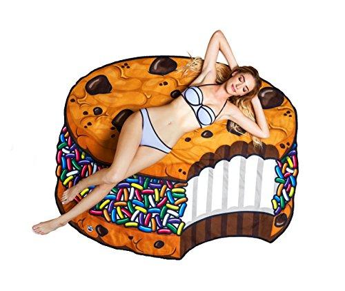 Bigmouth Inc Giant spiaggia asciugamani novità Holiday Large Sun coperte Cookie Sandwich