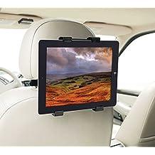 """Color Dreams STC Color Dreams Soporte Tablet Coche para Reposacabezas Rotación 360º Ajustable Diferentes Tamaños, Permite Un Montaje Seguro Y Rápido A Cualquier Reposacabezas para Ipad 2/3/4/, Ipad Air, Ipad Mini, Galaxy Tab/Tab S/Note Pro, Nexus 7, Kindle Fire Hd 6/7 Fire Hdx 7/8 9 Fire 2 Y Tablets Piezas Hasta 10 1"""""""