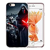 blitz-versand-germany Blitz® JEDI STAR WARS Schutz Hülle Transparent TPU Cartoon SAMSUNG Galaxy M9 S7 EDGE