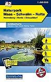 Maas-Schwalm-Nette: Nr. 62, Outdoorkarte Deutschland, 1:50 000, Mit kostenlosem Download für Smartphone (Kümmerly+Frey Outdoorkarten Deutschland, Band 747)