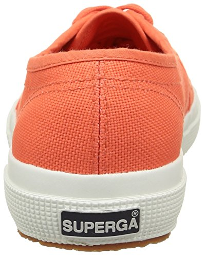 Superga 2750 Cotu Classic, Baskets Basses Femme Rouge - Red (Red Coral)