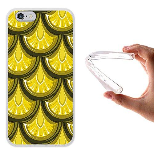 iPhone 6 6S Hülle, WoowCase Handyhülle Silikon für [ iPhone 6 6S ] Tier Schwarze haut des krokodils Handytasche Handy Cover Case Schutzhülle Flexible TPU - Transparent Housse Gel iPhone 6 6S Transparent D0518