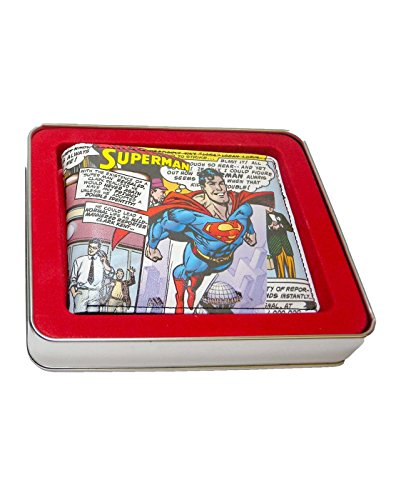 Official Superman Flying Wallet In A Tin