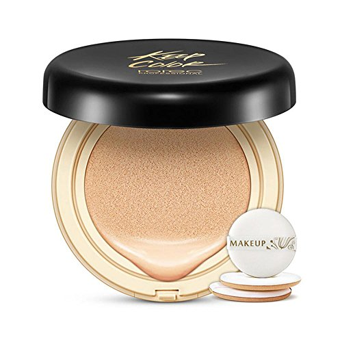 Leegoal Air Cushion BB Cream, Corrector Hidratante Natural Nude Maquillaje Crema 15g