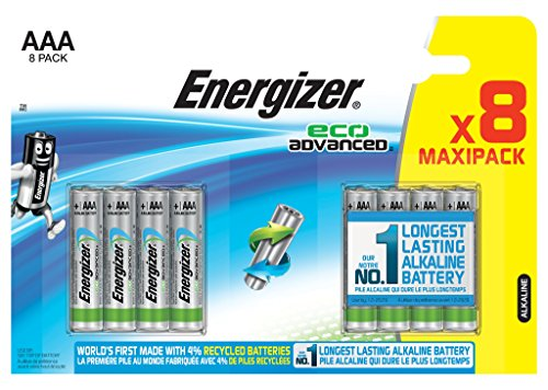 Energizer Batterie Eco Advanced AAA (Micro/LR03 8er-Packung) Aaa 8 Energizer