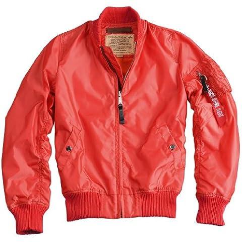 ALPHA Industries MA-1 TT Wmn Women chaqueta spicy red