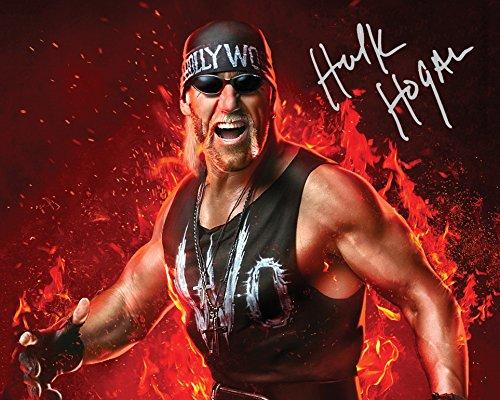 Hulk Unterzeichnet Wwe (Hulk Hogan WWE # 310x 8Lab Qualität unterzeichnet Foto Print)