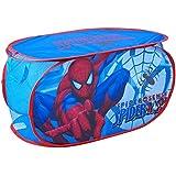 Disney - Coffre à Jouets Panier de Rangement Enfant Spiderman Disney Marvel