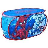 Disney - Coffre à Jouets Panier de Rangement Enfant Spiderman Marvel