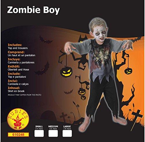 Imagen de rubie 's–disfraz de oficial zombie boy niños pequeños alternativa