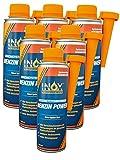 INOX Benzin Power Additiv, 6 x 250ml - Zusatz für alle Normal- und Superbenziner