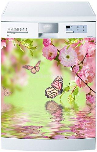 Preisvergleich Produktbild Sticker Spülmaschine oder Magnet Schmetterling 5509, Magnet 60x60cm