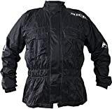 2RW100/XL - Richa Rain Warrior Textile Motorcycle Jacket XL Black (44)