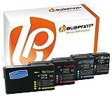 Bubprint 4 Druckerpatronen kompatibel für Epson 79XL 79 XL für WorkForce Pro WF 4630 WF-4630 DWF 4640 DTWF 5110 DW 5190 5620 WF-5620DWF 5690 Multipack
