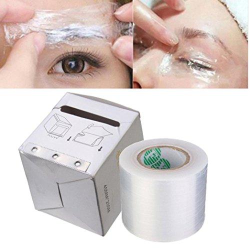 Tefamore Permanent Make-up Supplies Augenbrauen Tattoo Plastic Wrap Konservierungsmittel Betäuben Film, B (Make Up Zubehör)
