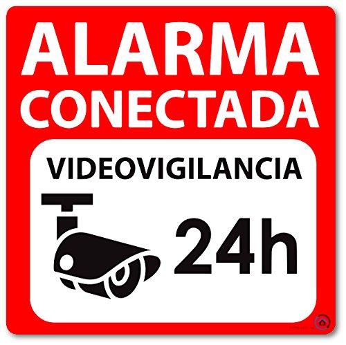 Cartel aviso cámara de vigilancia