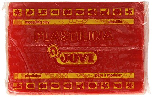 Jovi 72 - Plastilina, color rojo