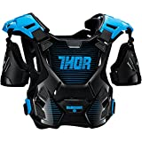 Thor Guardian Kinder Motocross Brustpanzer Cross Enduro Protektor MX SX Blau Rot Orange Schwarz Weiss (2XS/XS, Blau)
